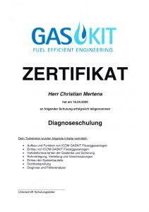 Flüssiggasanlagen-Diagnose